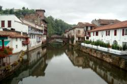 Basque village canal