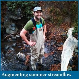 Fish habitat response to streamflow augmentation