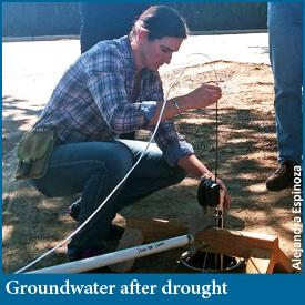 Groundwater dynamics after California drought